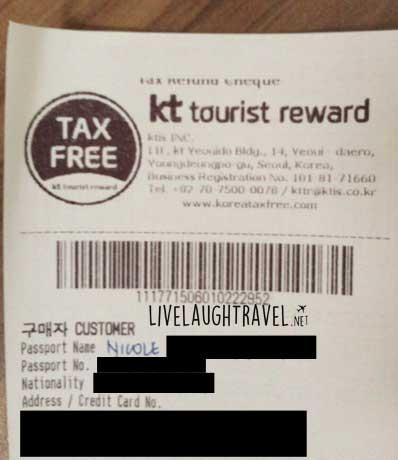 kt-tourist-tax-refund-korea