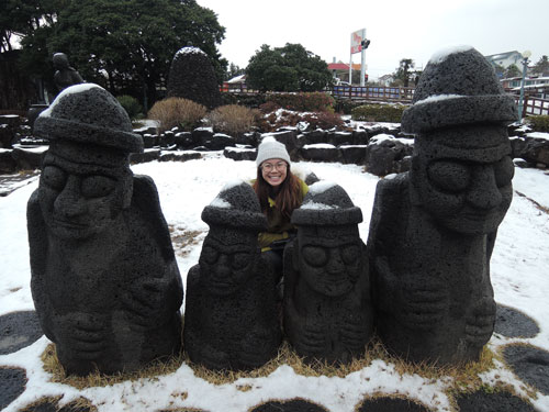 jeju-attractions-Bukchon-Dol-Hareubang-Park